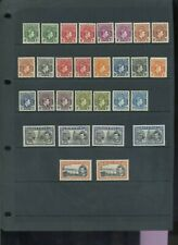 Nigeria 1938 defin set + some perf variants MH