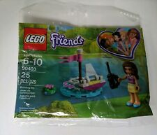 Lego Friends Poly Bag Set 30403 RC Boat New 2018 25 Pieces