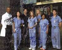 Greys Anatomy signed Cast 8X10 print photo picture poster autograph RP