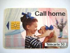 PHONECARD TELECARTE FRANCE TELECOM PUBLICITE CALL HOME
