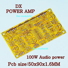 DX Amp Mono Channel 100W Power Amplifier Board Audio Amp Super LM3886 TDA7294