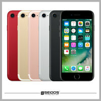 APPLE IPHONE 7 32GB ROT - RED ( OHNE VERTRAG ) TOP HANDY SMARTPHONE - WIE NEU !