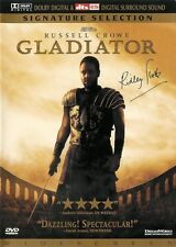 Gladiator ~ Russell Crowe Joaquin Phoenix ~ 2-Disc Signature Selection Dvd dtsEs