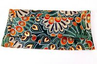 Mascarilla Tela Doble capa 100% tejido natural Batik diseño floral Higiénica