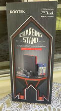 Kootek Vertical Stand for PS4/Slim With Cooling Fan+Controller Charging Station