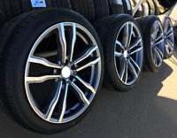 20 Zoll satz winterkompletträder für BMW X5 E70 F15 X6 F16 275/40 315/35 winter