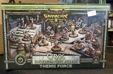 Warmachine Cryx Slaughter Fleet Raiders Theme Force NEW