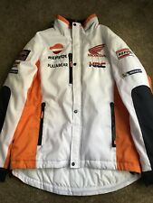 Honda Repsol Moto GP Team White Jacket Official 2017 Used Once Size Large