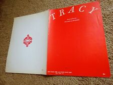 TRACY Sheet Music