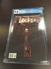 LOCKE & KEY #1 CGC 9.8 Joe Hill & Gabriel Rodriguez 1ST PRINT!!
