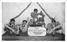 POSTCARD   MUSIC   The  Deep  Sea  Beatles