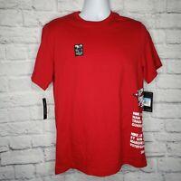 Nike Air Jordan Jumpman Wing Classic Red T-Shirt Size Medium Men's