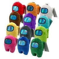 Among Us Game Figure Plush Soft Stuffed Toy Plushie Pendant Keychain Doll Kids