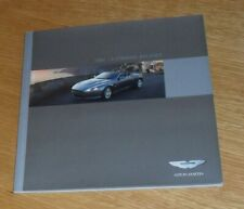 Aston Martin DB9 Brochure 2007-2008 - V12 Coupe & Volante