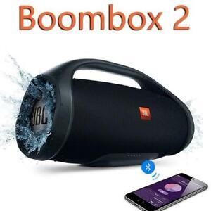 Boombox 2 Bluetooth Speaker Hifi IPX7 Waterproof Party Portable Wireless Black