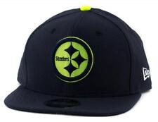 Pittsburgh Steelers New Era NFL Team 9Fifty Hat Genuine Baseball Cap In Navy