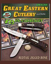 Great Eastern Cutlery Knife-{Northfied Un-X-Ld} #23 Trapper-Redtail Jigged Bone