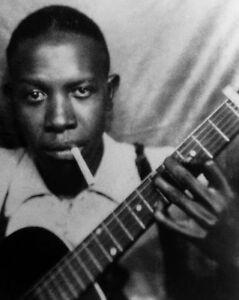 American Blues Singer ROBERT JOHNSON 8x10 Photo Musician Poster Glossy Print
