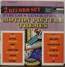 Fabulous Generation Of Motion Picture Themes TDS 3000 Time Records 092717mne
