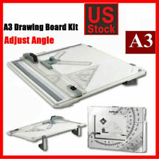 A3 Drafting Drawing Board Tracing Architect Stencil Ruler Table Sketch Tool Set