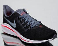 Nike Air Zoom Vomero 14 Men's New Black Bright Crimson Running Shoes AH7857-004
