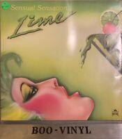LIME SENSUAL SENSATION VINYL LP 1983 ALBUM ~ Polydor 823 288 EX CON