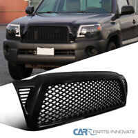 For 05-11 Toyota Tacoma ABS Black Mesh Honeycomb Front Bumper Hood Grille Grill