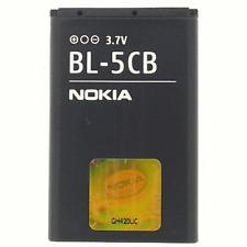 5X NOKIA BL-5CB  850mAh Li-ion Replacement Battery For Nokia 1800 E60 3600 3660