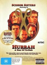 SCISSOR SISTERS DVD Music/CD Hurrah - A Year Of Ta-Dah Documentary_Live Concert