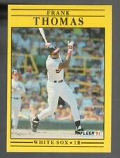 FRANK THOMAS WHITE SOX 1991 FLEER RC