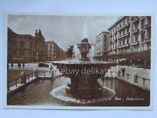 BARI Corso Cavour AUTOBUS BUS vecchia cartolina