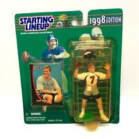 New Vintage 1998 Starting Lineup John Elway Action Figure Toy + Card Kenner