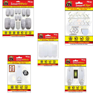 Removable No Wall Damage Strong Adhesive Picture Smart Hooks/Cable Clip/Strips