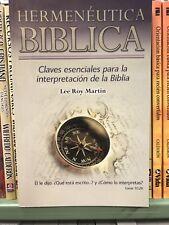 Hermenutica Biblica Lee Roy Martin