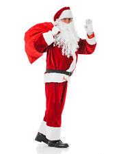 Weihnachtsmann Kostüm Erwachsene Santa Claus Nikolauskostüm Verkleidung