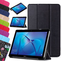 Leather Slim Smart Stand Case Cover For Huawei MediaPad T3 10  7.0  8 M3 Lite 10