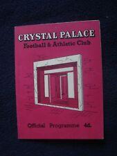 Crystal Palace V Port Vale (58/59) - División de cuatro (14 de febrero de 1959)
