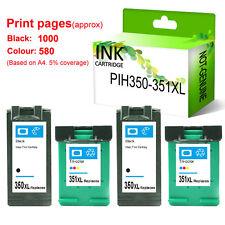 4 HP 350XL 351XL INK Cartridge PP® fit for Photosmart C4200 C4205 C4210