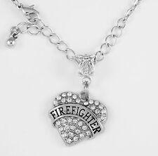 Firefighter Necklace Firefighter Gift Firefighter chain FD Present Fireman Gift