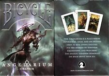 Angelarium Seraphim Bicycle Playing Cards Poker Size Deck USPCC Custom Limited