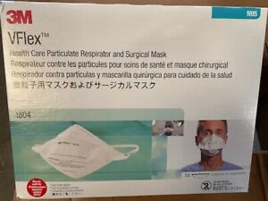 (Box of 50) 3M 1804 N Grade 95 Vflex  Exp 06/2024 (NEW)