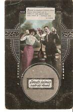 carte postale Bonne fête Jour de nommage nom homme femme  L.P. Wihtola apgahdiba