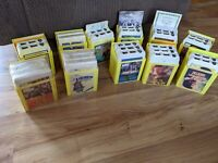 Lot Of 27 Vintage 8-Track Reader's Digest Stereo 8 Tapes W/Cases & Books- 2 New