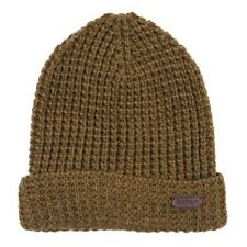 Barbour Men's Darnick Knitted Beanie Hat Olive Green One Size