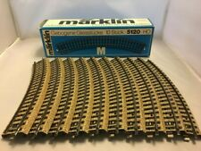 MARKLIN - 5120 HO Curved Track Sections. 10 pcs in original box. Excellent cond
