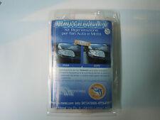 Kit rigenerazione fari opaco vecchi rinnova policarbonato faro turtle wax 3 m