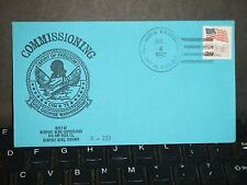USS GEORGE WASHINGTON CVN-73 Naval Cover 1992 COMMISSIONED Cachet FDC