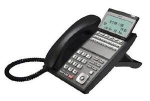 NEC DLV(XD)Z-Y(BK) Telephone IP3NA-12TXH TEL(BK) Black Refurb *1 Year Warranty*