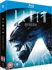 Alien Anthology - The Complete 1 2 3 & 4 Box Set Collection | New | Blu-ray