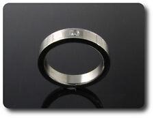 anello da uomo acciaio + 1x2 mm DIAMANTE CZ it 12